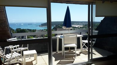 Photo for Beautiful sea view for this apartment facing south
