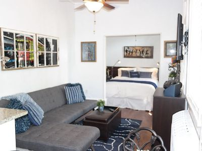Photo for Welcome to Enchantment, a charming downtown Condo in the heart of the city