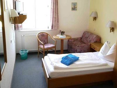 Photo for Single rooms. 1 - Hotel Gutshaus Kajahn