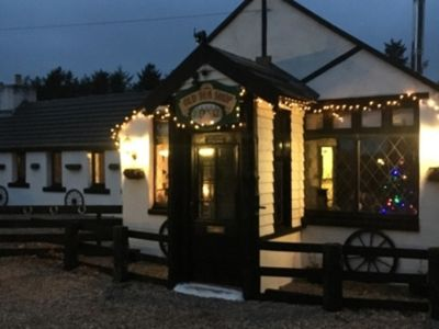 Photo for The Old Tea Shop traditional holiday cottage wood-fired hot tub (extra charge)