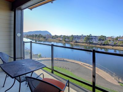 Photo for Discover the River's Edge at this luxury condo in the heart of Seaside!