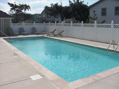Our awesome pool operates from mid-May through September