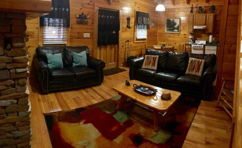 Experience Cabin Life just a block off the Parkway! Wild West Cabin -  Pigeon Forge