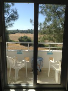 Breakfast? Kitchen balcony with view!  What a way to start of your holiday!