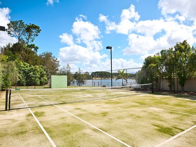 Photo for THE LEXCEN 6BED 4BATH WATERFRONT POOL TENNIS COURT