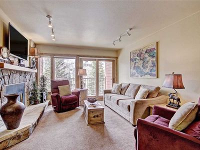 Photo for Amazing Mountain Views! One block to Main St. Breckenridge! Ski-in, hot tub!