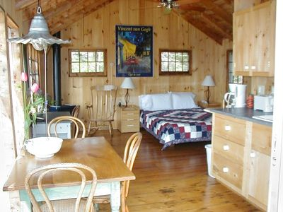 Photo for Cabin Vacation Rental in Belmont, Vermont