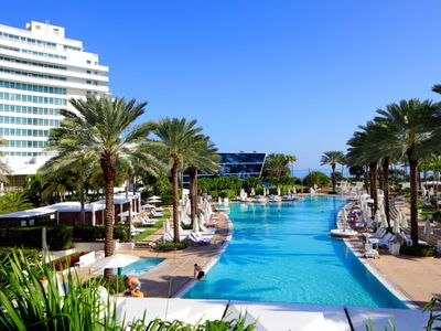 Photo for Fontainebleau Tresor Tower lll Private Ocean View Junior Suite