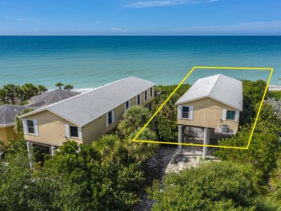 Photo for Listen To The Waves At This 3BR House Directly On The Gulf