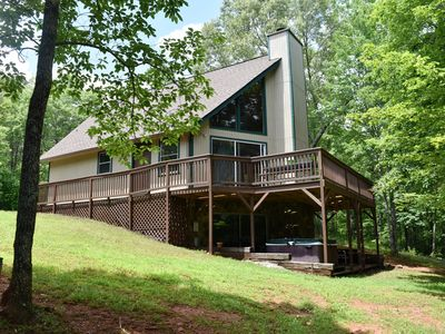 Photo for Private, Romantic, Family & Pet Friendly, Minutes to Helen, GA