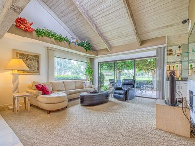 Photo for Fantastic mountain views from this beautiful Mission Hills Country Club Condo