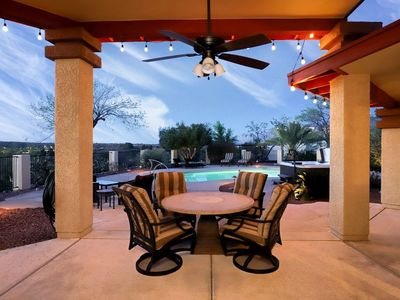 Photo for Atua Place - Oro Valley Country Club home with magnificent mountain, city, golf club views