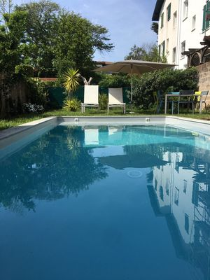 Photo for Biarritz St Charles, house with swimming pool, beach and shops on foot.