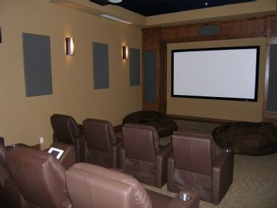 4 movie theaters available for your party's private use!