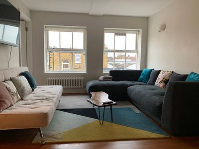 Photo for Modern flat close to Shoreditch and Victoria Park