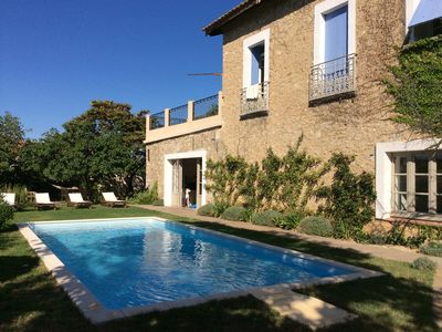 Photo for Beautiful Winemaker's Manor House, perfect to discover the real South of France