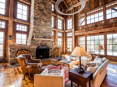 Photo for Luxury Custom Built Post and Beam Retreat