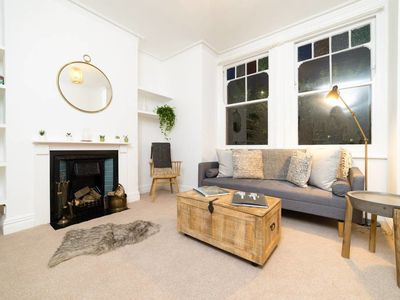 Photo for Charming 1 bed flat w/ garden near Clapham Common