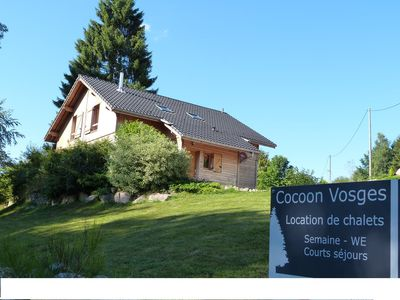 Photo for Half comfortable cottage for 8 persons in natural setting! Ideal for rest