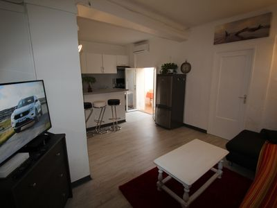 Photo for Grégoire 2 rooms 50 M2, sleeps 6, 15 minutes from the sea