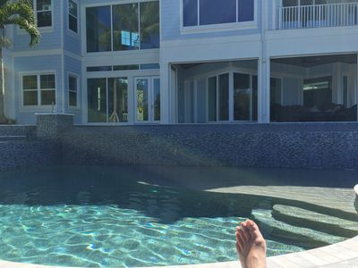 Photo for Brand New Coastal Contemporary with Resort Style Tropical Pool