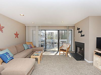 Photo for 8504W: Updated 2BR Sea Colony West condo | Private beach, pools, tennis ...