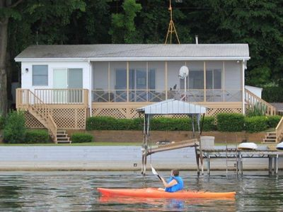 Photo for 'Getg Inn' Comfortable Cozy Lakefront Property-Beautiful View