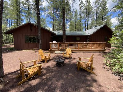 Photo for Managed by Owner now! Whispering Pines-Dual Master Bedrooms Vacation Cabin