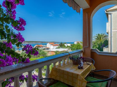 Photo for Apartment Anđela  A3(2+2)  - Barbat, Island Rab, Croatia