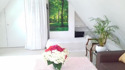 Photo for bright, spacious guest room with guest bike