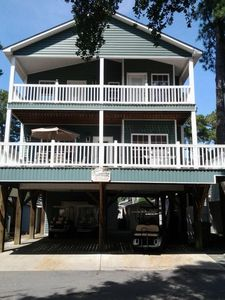 Photo for Complimentary Golf Cart! Beautiful 5 Br 3.5 Bath, Reserved Beach Chair/Umbrella