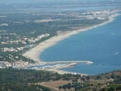 "Photo for Argeles sur Mer ""Racou"" very nice apartment T3 50m from the beach"