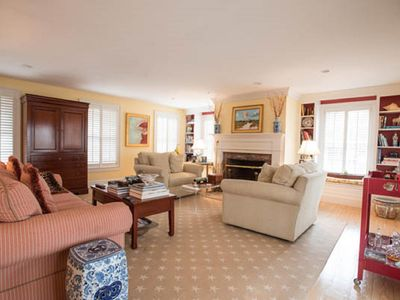 Photo for Downtown Nantucket- Elegantly Appointed Pleasant Street House