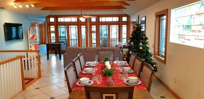 Waterfront House with BEST Panoramic View in Town & Xmas Decoration