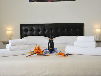 Photo for Alessandr Apartment with sea view, in the city center, Wi-Fi, Free Parking, Kitchen