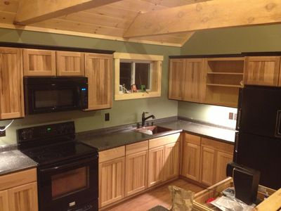 Photo for 2BR Cabin Vacation Rental in Carrabassett Valley, Maine