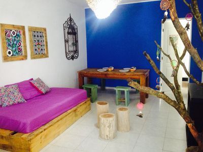 Photo for Beautiful apartment in the center of Tulum (Sierra Madre)