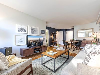 Photo for Spacious Chelsea 1BR w/ Gym, Balcony, + Doorman by Blueground
