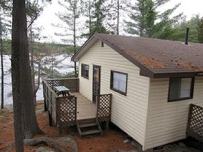Photo for Camp Driftwood Cottage #3 Wheelchair accessible Trout lake Alban French River