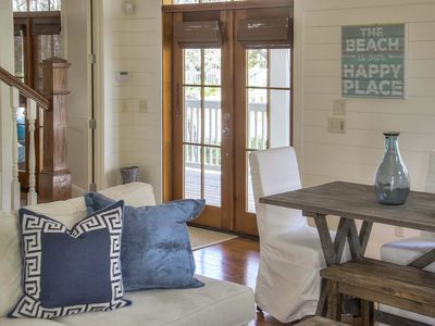 Photo for NEW LISTING: Newly Redecorated, Next to Frog Pool, Bikes, Carriage House