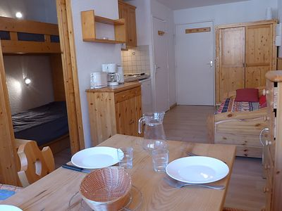 Photo for Apartment Les Cimes de Caron in Val Thorens - 4 persons, 1 bedrooms
