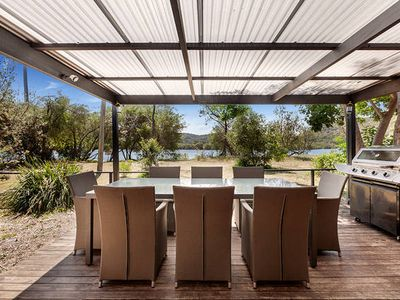 Photo for THE LITTLE OYSTER Waterfront Beach House Patonga