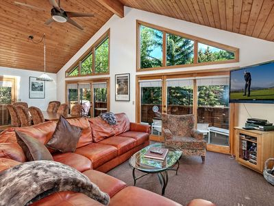 Photo for 10 Min To Vail or Beaver Crk, Eagle Vail Home w/ Sunny Mtn Views, Expansive Upper Deck, Includes A/C