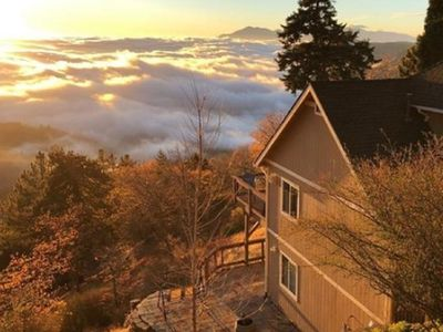 Photo for Casa Pacifica-100 Mile View-A Mtn. retreat above the Clouds near Lake Arrowhead.