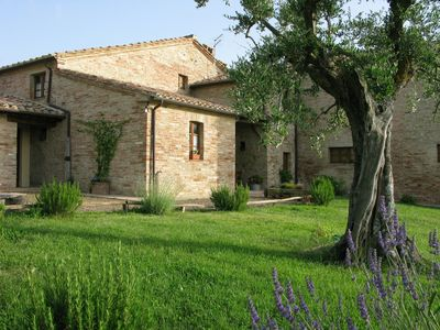 Photo for Country house in the Tuscan farm between San Giovanni D'Asso and Montalcino