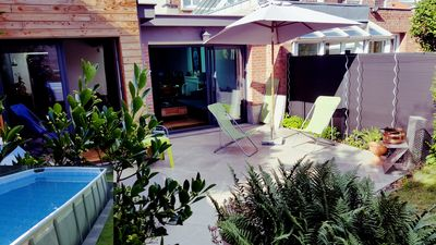 Photo for Big house 150 M2 Garden - swimming pool - Lille - 1 Hrs Paris - London - Brussels