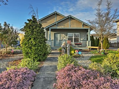Photo for Charming Birch Bay House w/Patio- Walk to the Bay!