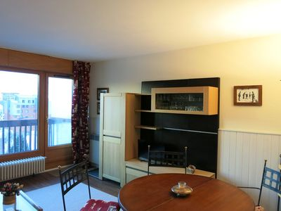 Photo for CHARMING 2 ROOMS APARTMENT CLOSE TO CLOSE TO ALL AMENITIES EAST FACING - CHALET DE LA TOUR 35
