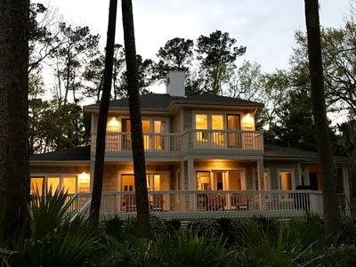 Photo for Beautiful Home! Golf Course View! Sleeps 12! Short drive to Beaches/Pool!