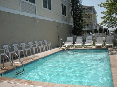 Photo for Luxury Top Floor Condo-Pool, Elevator, Ocean View, 1 Block to Beach & Boardwalk